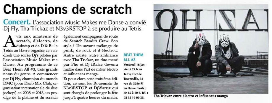 Article Paris-Normandie